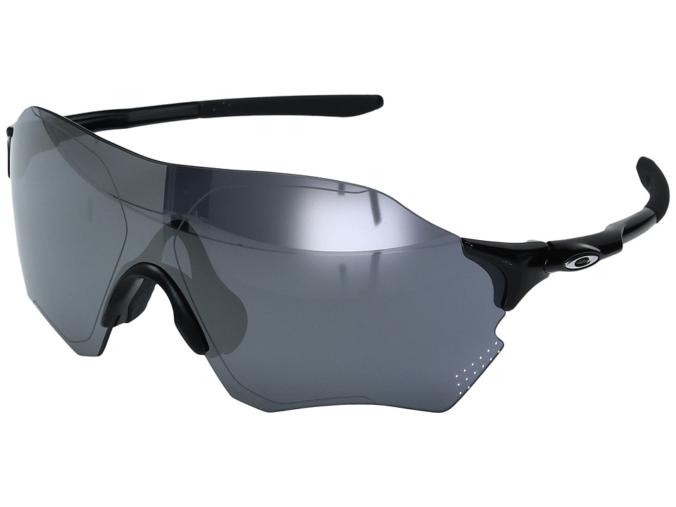 Oakley - Evzero Range (Polished Black w/ Black Iridium ) Fashion Sunglasses