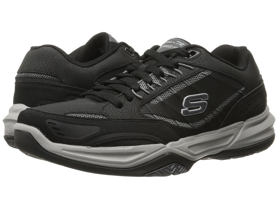 SKECHERS Monaco TR Swift Step (Black/Gray) Men