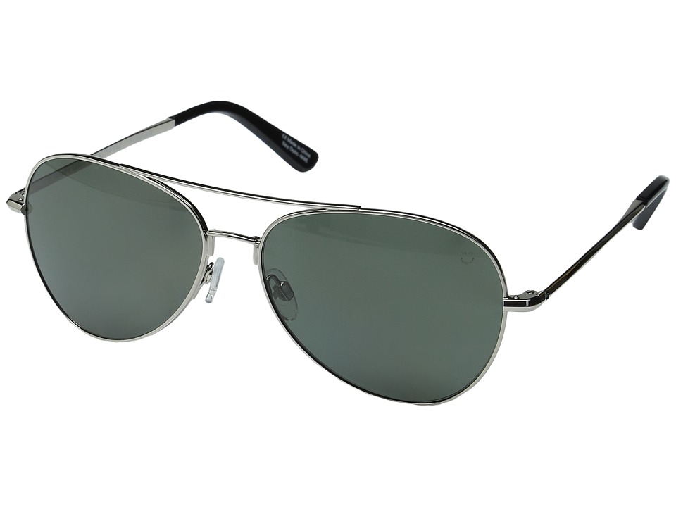 Spy Optic - Whistler (Silver/Happy Gray/Green Polar) Metal Frame Sport Sunglasses