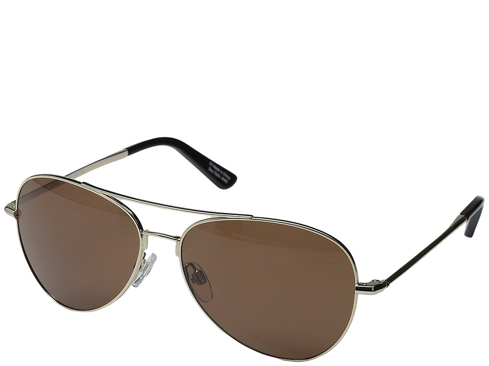Spy Optic - Whistler (Gold/Happy Bronze) Metal Frame Sport Sunglasses