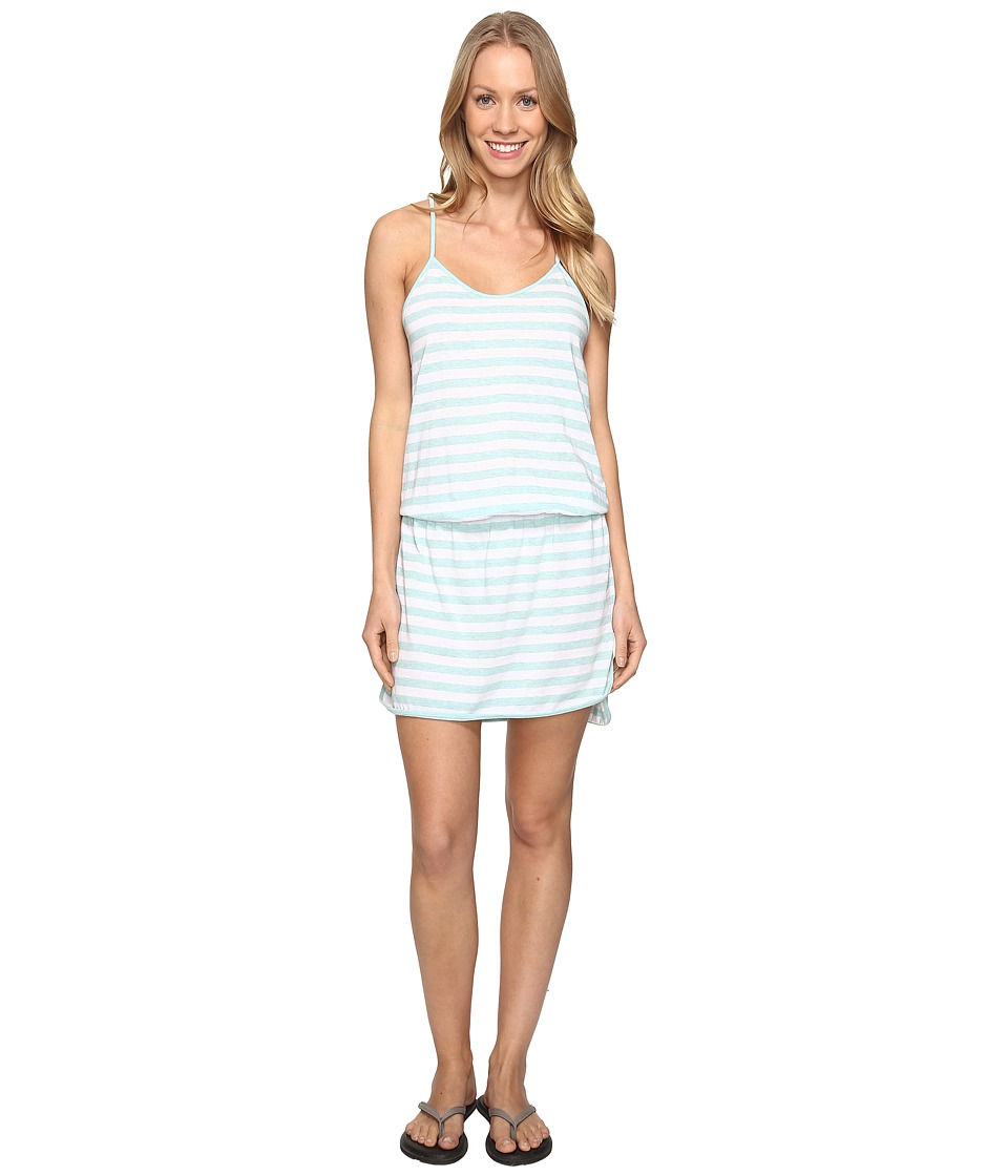Lole - Briley Dress (Aqua Splash Stripe) Women's Dress