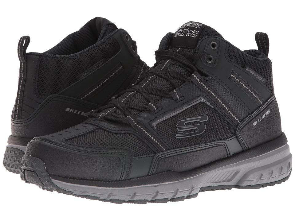 SKECHERS Geo Trek Scenic View (Black/Gray) Men