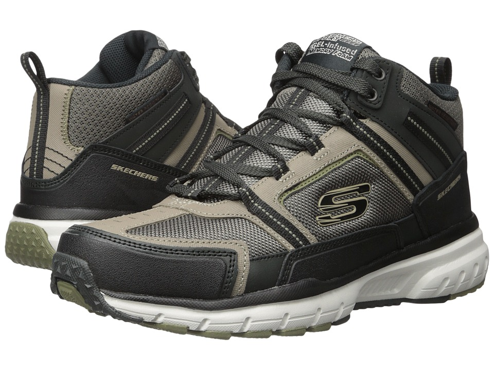 SKECHERS Geo Trek Scenic View (Taupe/Black) Men