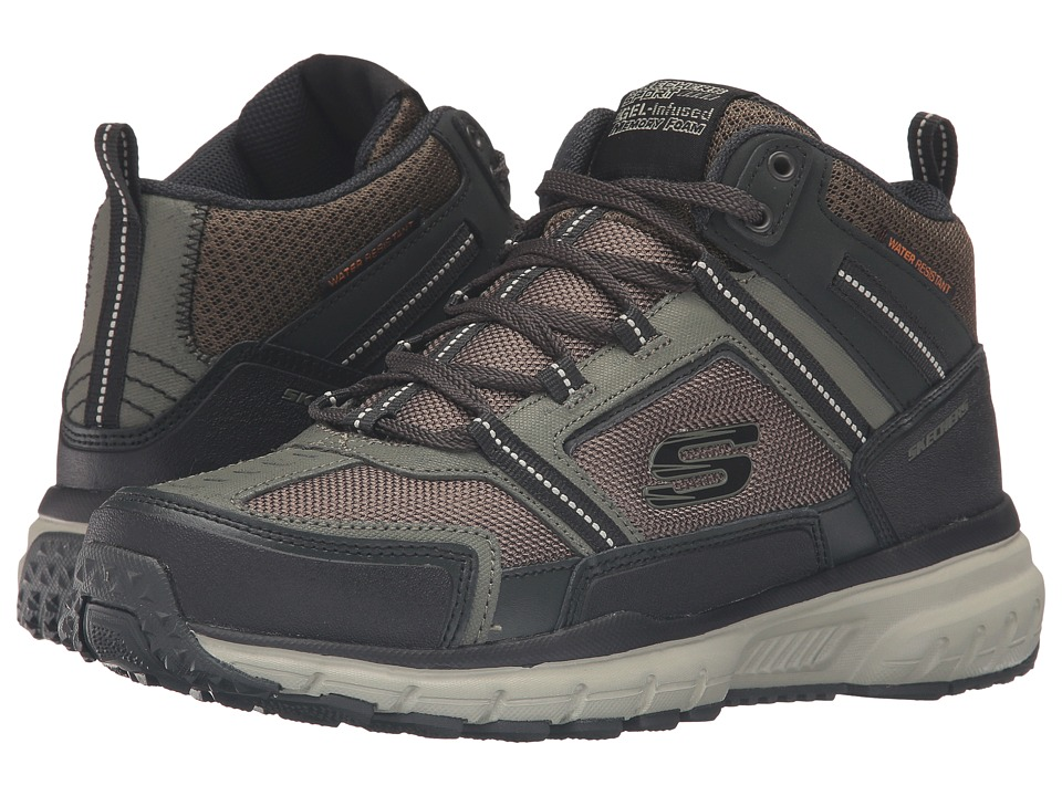 SKECHERS Geo Trek Scenic View (Olive/Black) Men