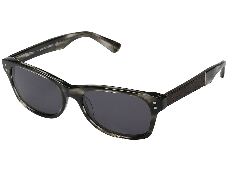 Shwood - Cannon (Pearl Grey/Ebony/Grey) Fashion Sunglasses
