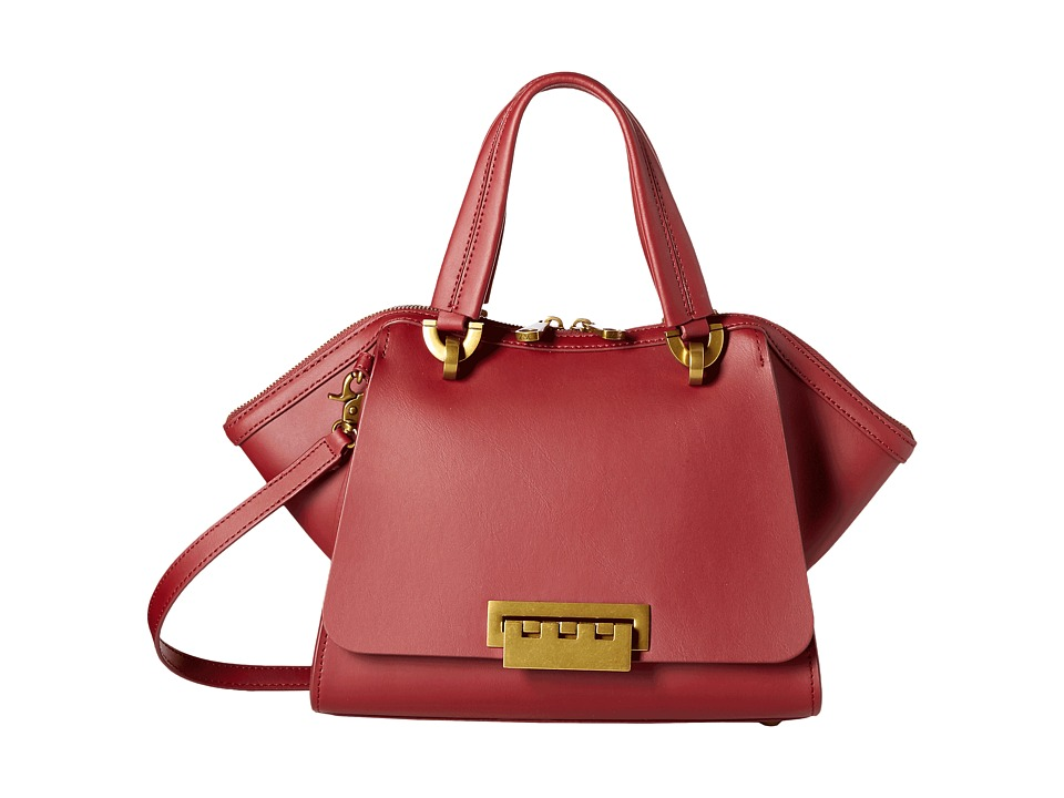 ZAC Zac Posen - Eartha Iconic Small Double Handle (Cardinal) Top-handle Handbags
