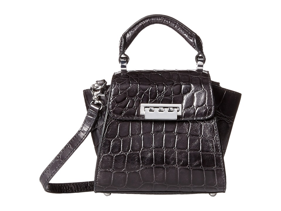 ZAC Zac Posen - Eartha Iconic Top-Handle Mini (Graphite) Top-handle Handbags