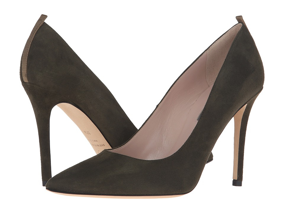 SJP by Sarah Jessica Parker - Fawn 100mm (Turf Olive Suede) Women's Shoes