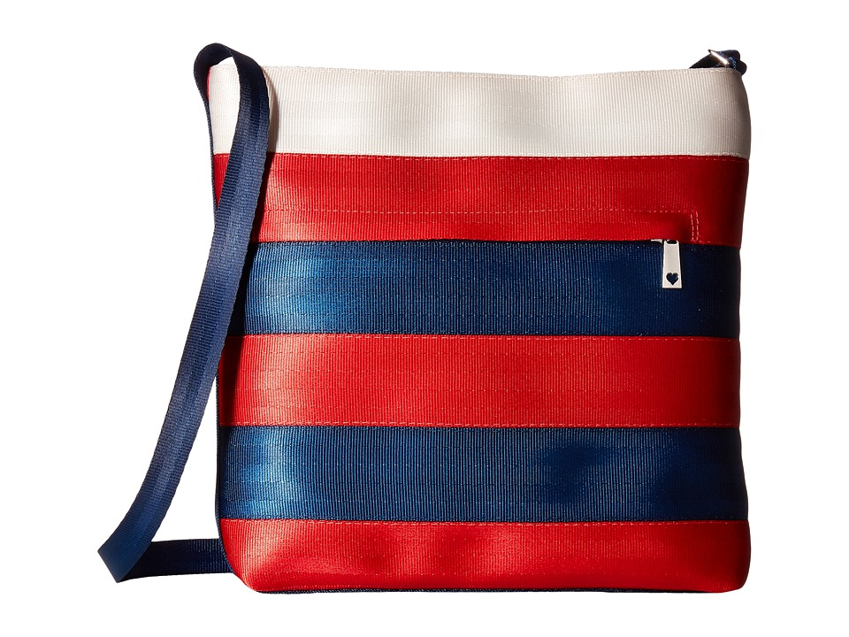Harveys Seatbelt Bag - Streamline Crossbody (Firecracker) Cross Body Handbags