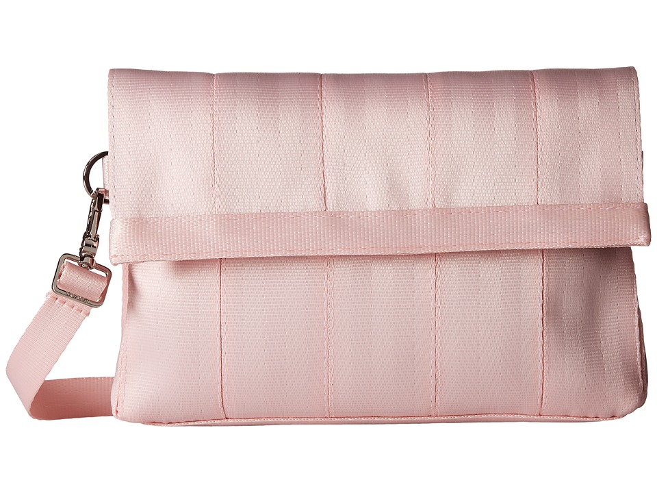 Harveys Seatbelt Bag - Mini Foldover (Rose Quartz) Handbags