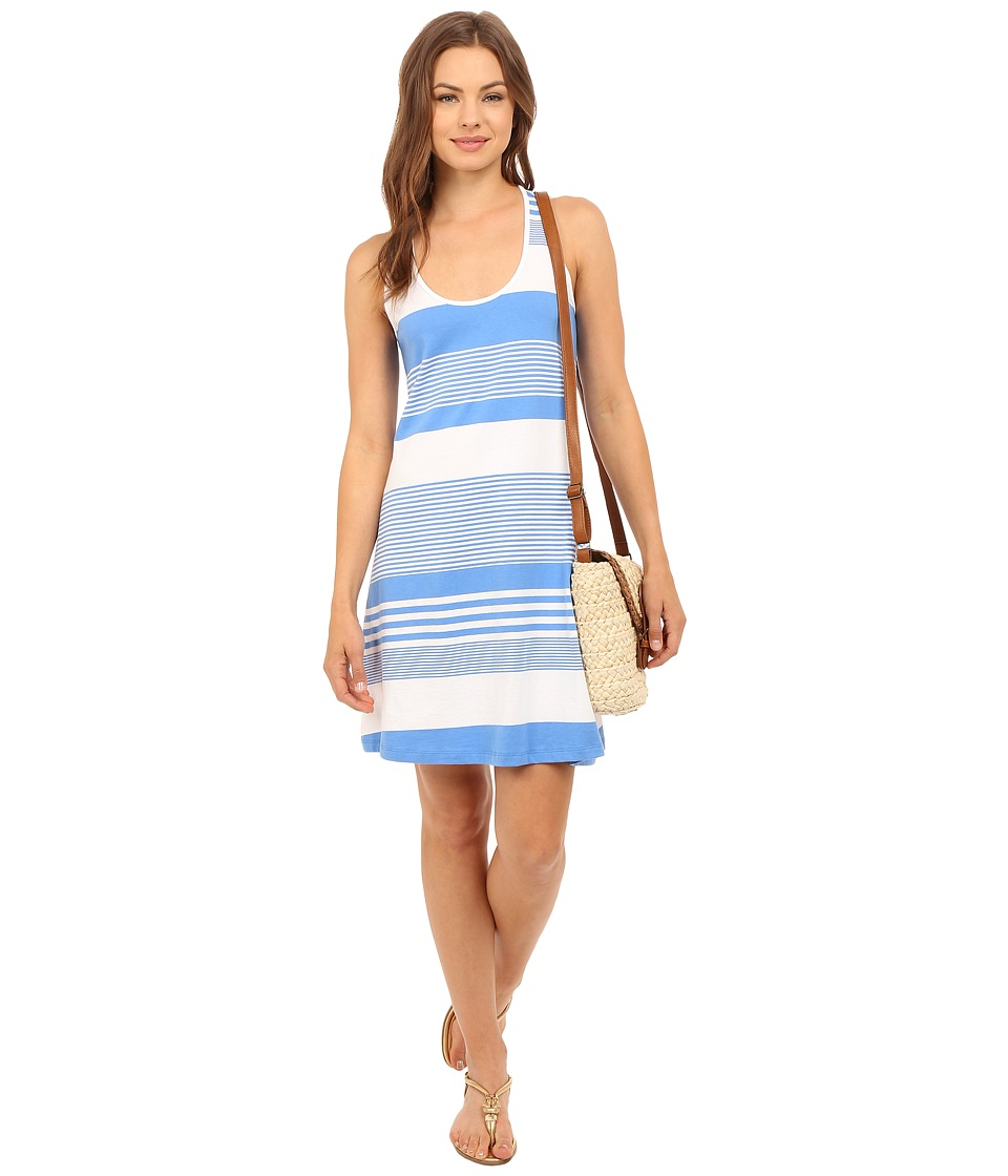 Lilly Pulitzer - Melle Dress (Bay Blue Coconut Stripe) Women's Dress