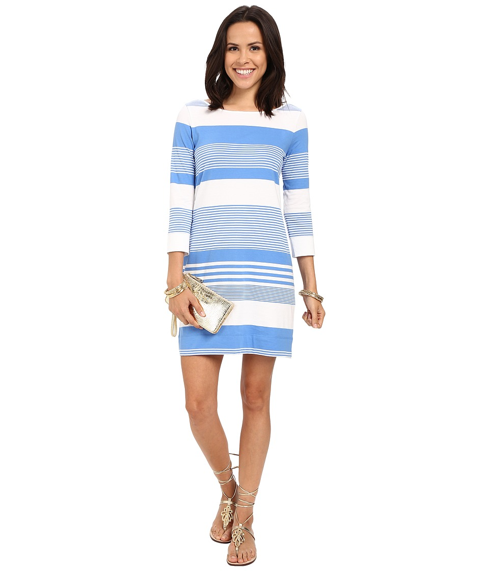 Lilly Pulitzer - Marlowe Dress (Bay Blue Coconut Stripe) Women's Dress