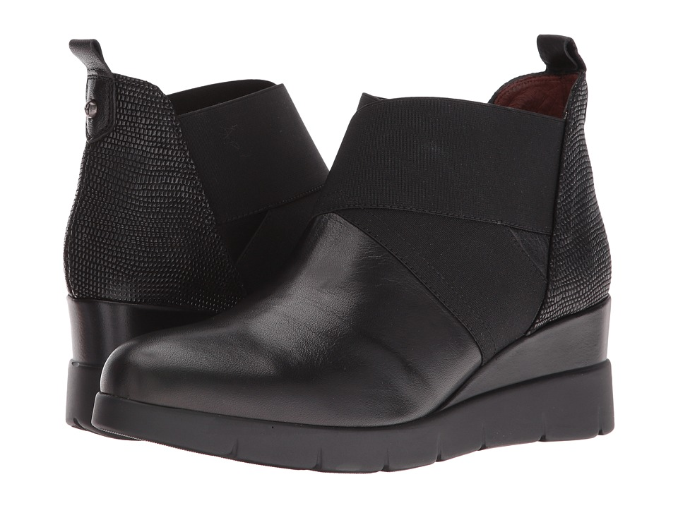 Hispanitas - Lyra (Soho Black/Lizard Black) Women's Shoes
