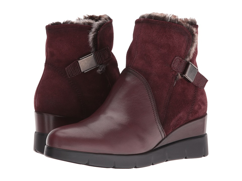 Hispanitas - Langley (Soho Bordo/Crosta Bordo/Lizard Bordo) Women's Boots