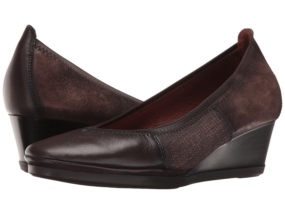 Hispanitas - Victoria (Soho Brown/Tejus Brown/Magic Brown) Women's Wedge Shoes