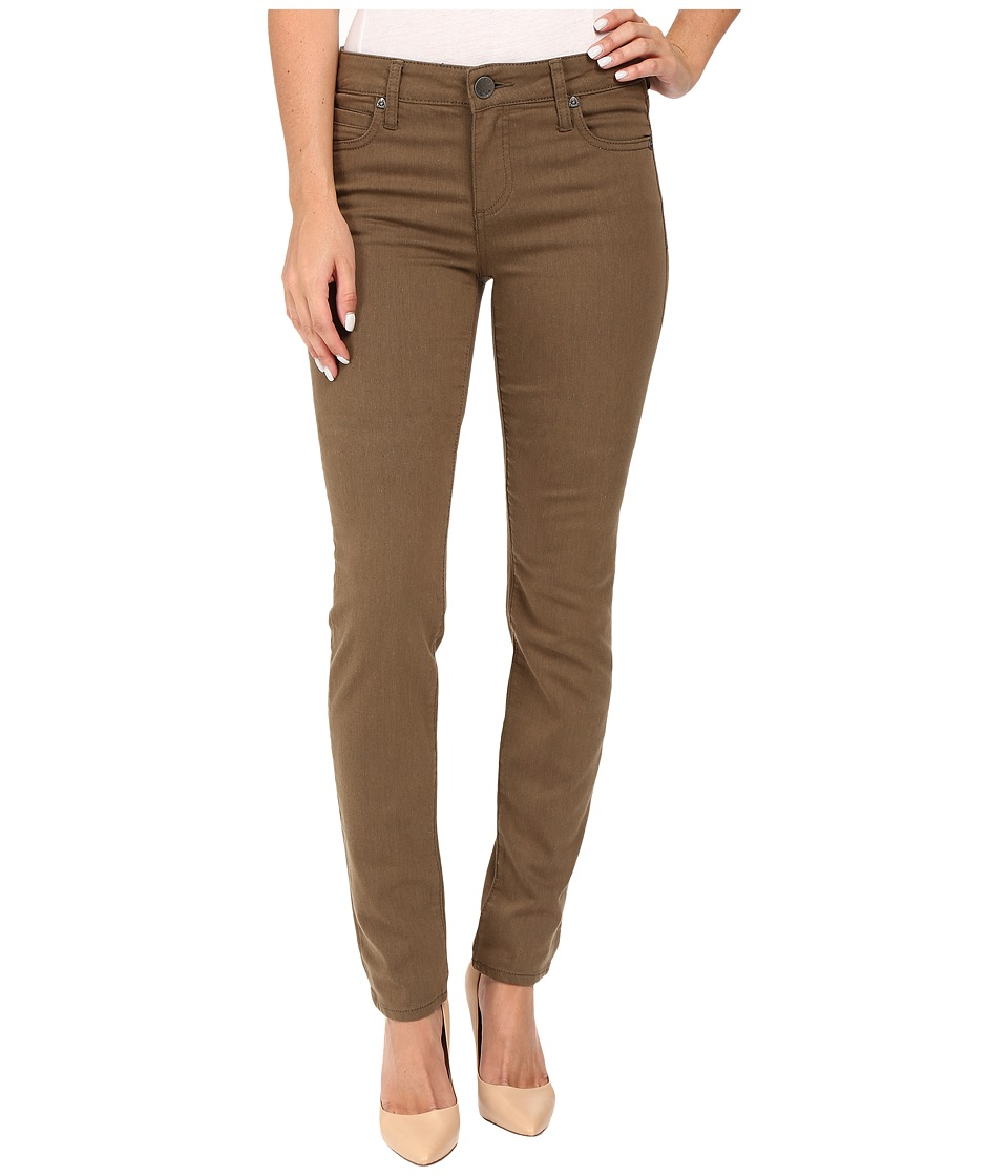KUT from the Kloth - Diana Skinny Jeans in Military Olive (Military Olive) Women's Jeans
