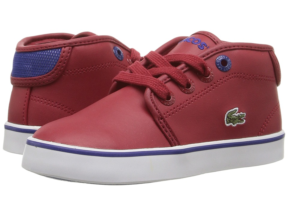 Lacoste Kids - Ampthill 316 2 SPI (Toddler/Little Kid) (Dark Red) Kid's Shoes