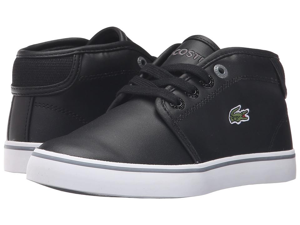 Lacoste Kids - Ampthill 316 2 SPC (Little Kid) (Black) Kid's Shoes