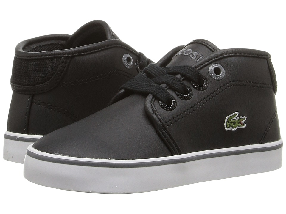 Lacoste Kids - Ampthill 316 2 SPI (Toddler/Little Kid) (Black) Kid's Shoes