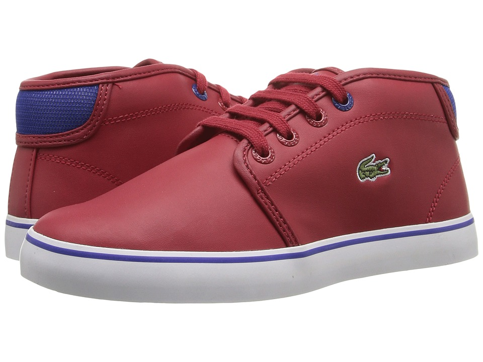 Lacoste Kids - Ampthill 316 2 SPC (Little Kid) (Dark Red) Kid's Shoes