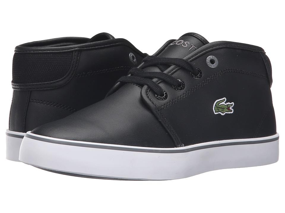 Lacoste Kids - Ampthill 316 2 SPJ (Little Kid/Big Kid) (Black) Kid's Shoes
