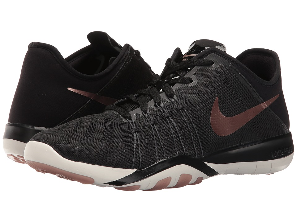 Nike - Free TR 6 (Black/Metallic Red Bronze/Summit White/Dark Grey) Women's Cross Training Shoes