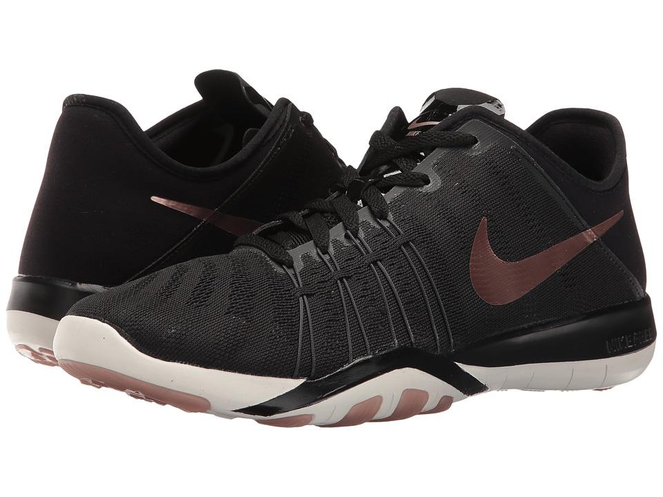 Nike - Free TR 6 (Black/Metallic Red Bronze/Summit White/Dark Grey) Women's Cross Training Shoes