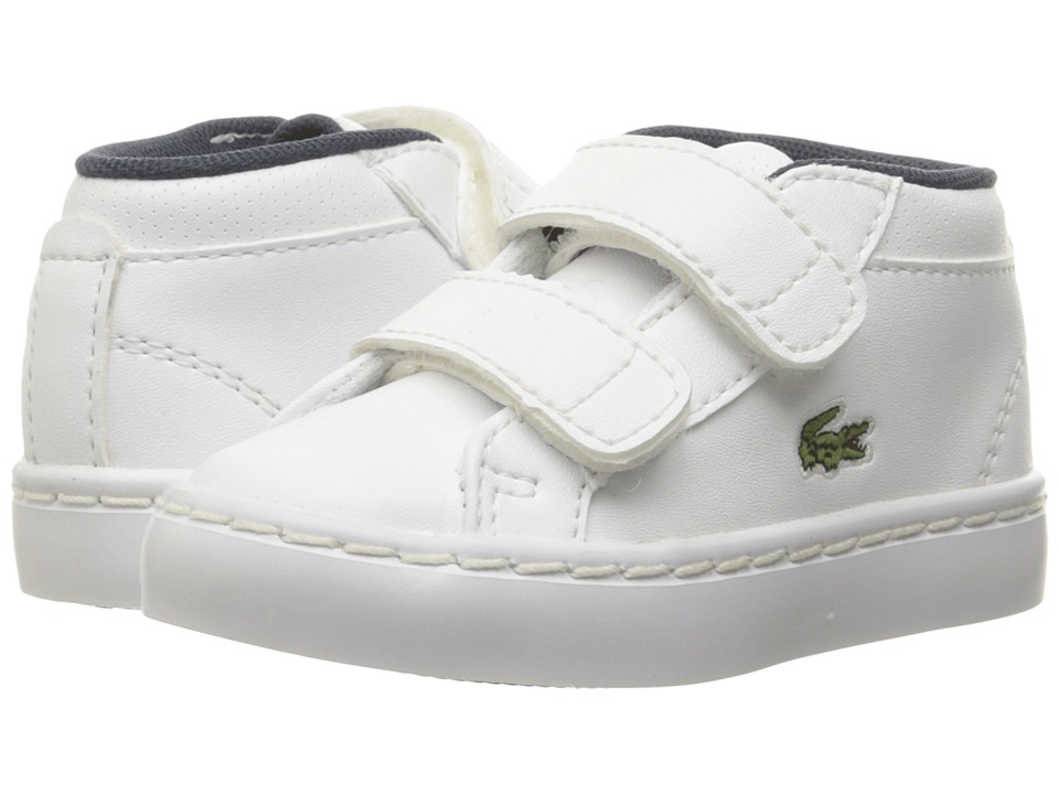 Lacoste Kids - Straightset Chukka 316 2 SPI (Toddler/Little Kid) (White) Kid's Shoes