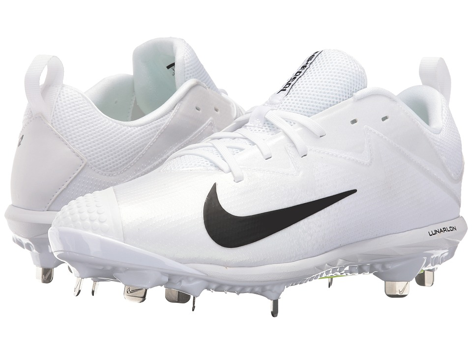 Nike - Vapor Ultrafly Pro (White/Black/White) Men's Cleated Shoes