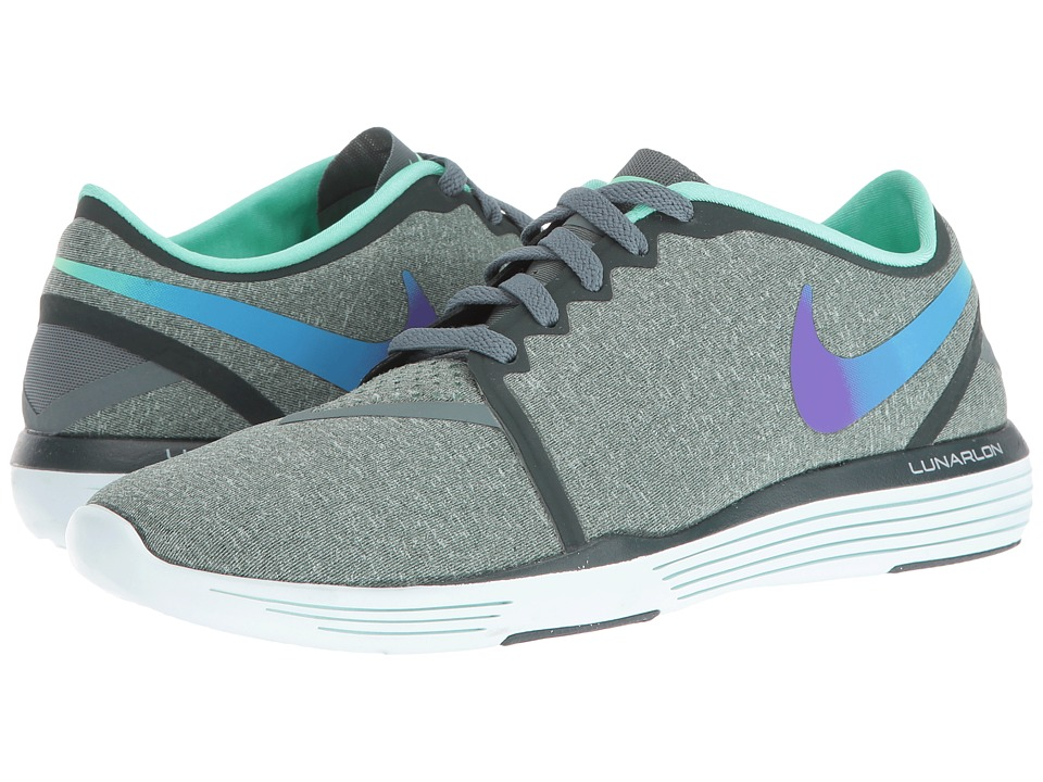 Nike - Lunar Sculpt (Hasta/Purple/Green Glow) Women's Cross Training Shoes