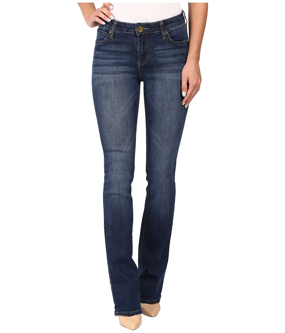 KUT from the Kloth - Natalie Kurvy Bootcut Jeans in Lift w/ Dark Stone Base Wash (Lift/Dark Stone Base Wash) Women's Jeans