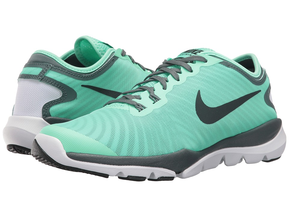 Nike - Flex Supreme TR4 (Green Glow/Seaweed/Hasta/White) Women's Cross Training Shoes