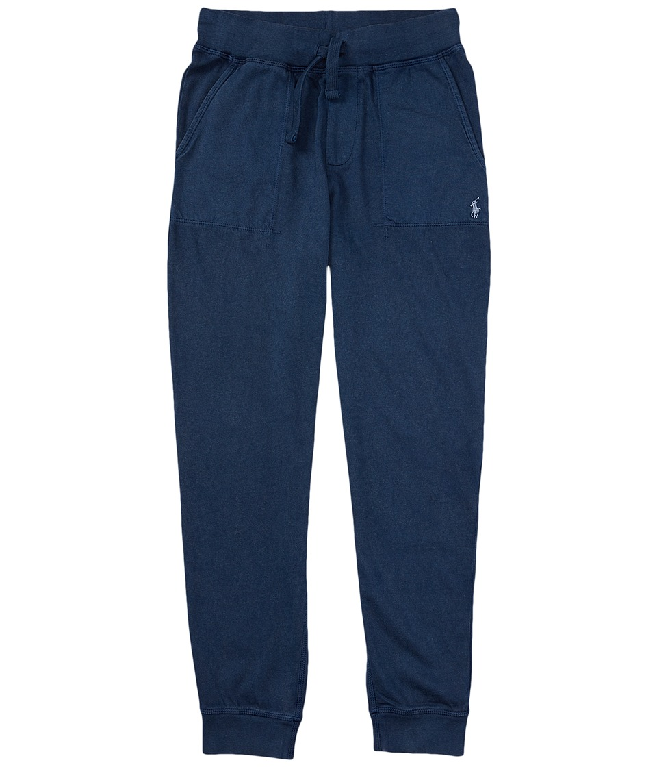 Polo Ralph Lauren Kids - Jersey Pull-On Pants (Little Kids) (Spring Navy) Boy's Casual Pants