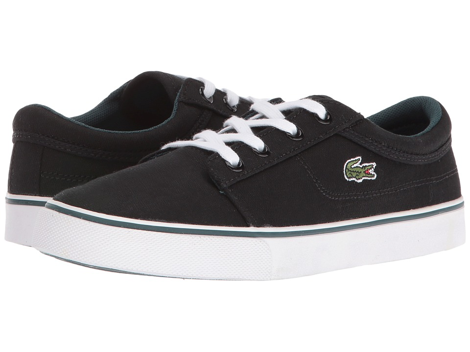 Lacoste Kids - Vaultstar 316 1 SPC (Little Kid) (Black) Kid's Shoes