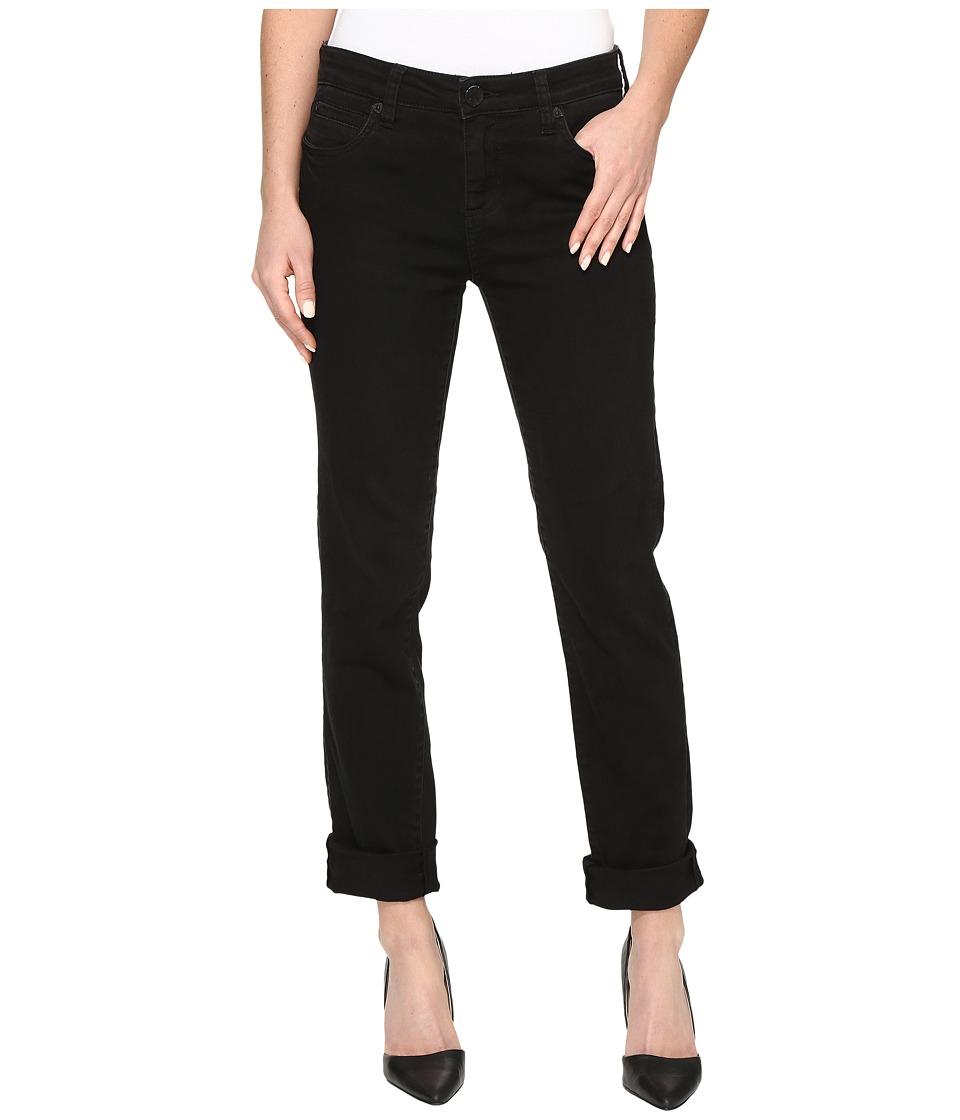 KUT from the Kloth - Catherine Five-Pocket Boyfriend Jeans in Black (Black) Women's Jeans