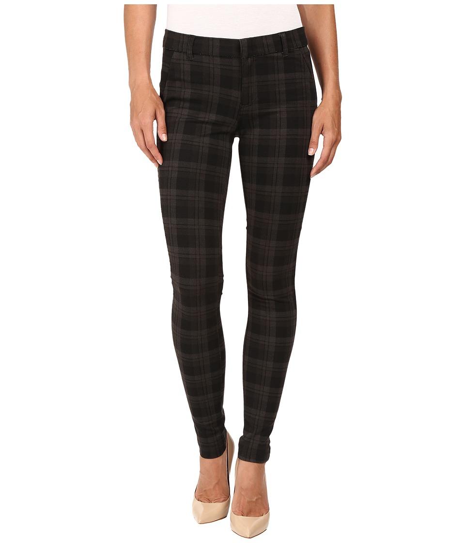 KUT from the Kloth - Mia Fake Pockets Skinny Legs Jeans in Black w/ Grey (Black/Grey) Women's Jeans