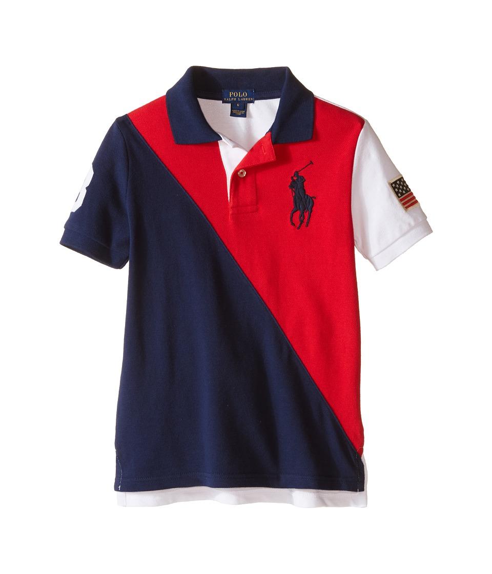 Polo Ralph Lauren Kids - Flag Polo (Little Kids/Big Kids) (RL 2000 Red) Boy's Short Sleeve Knit