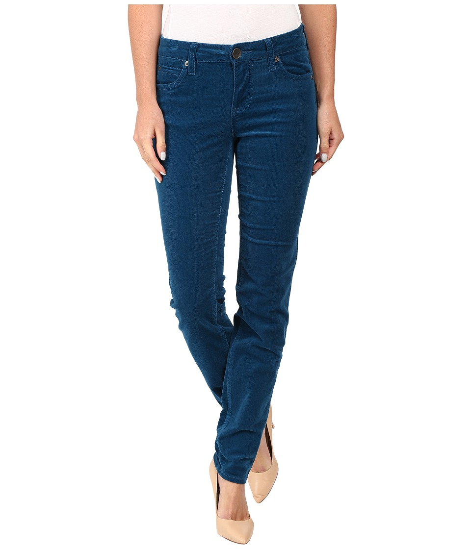 KUT from the Kloth - Diana Corduroy Skinny in Deep Ocean (Deep Ocean) Women's Jeans