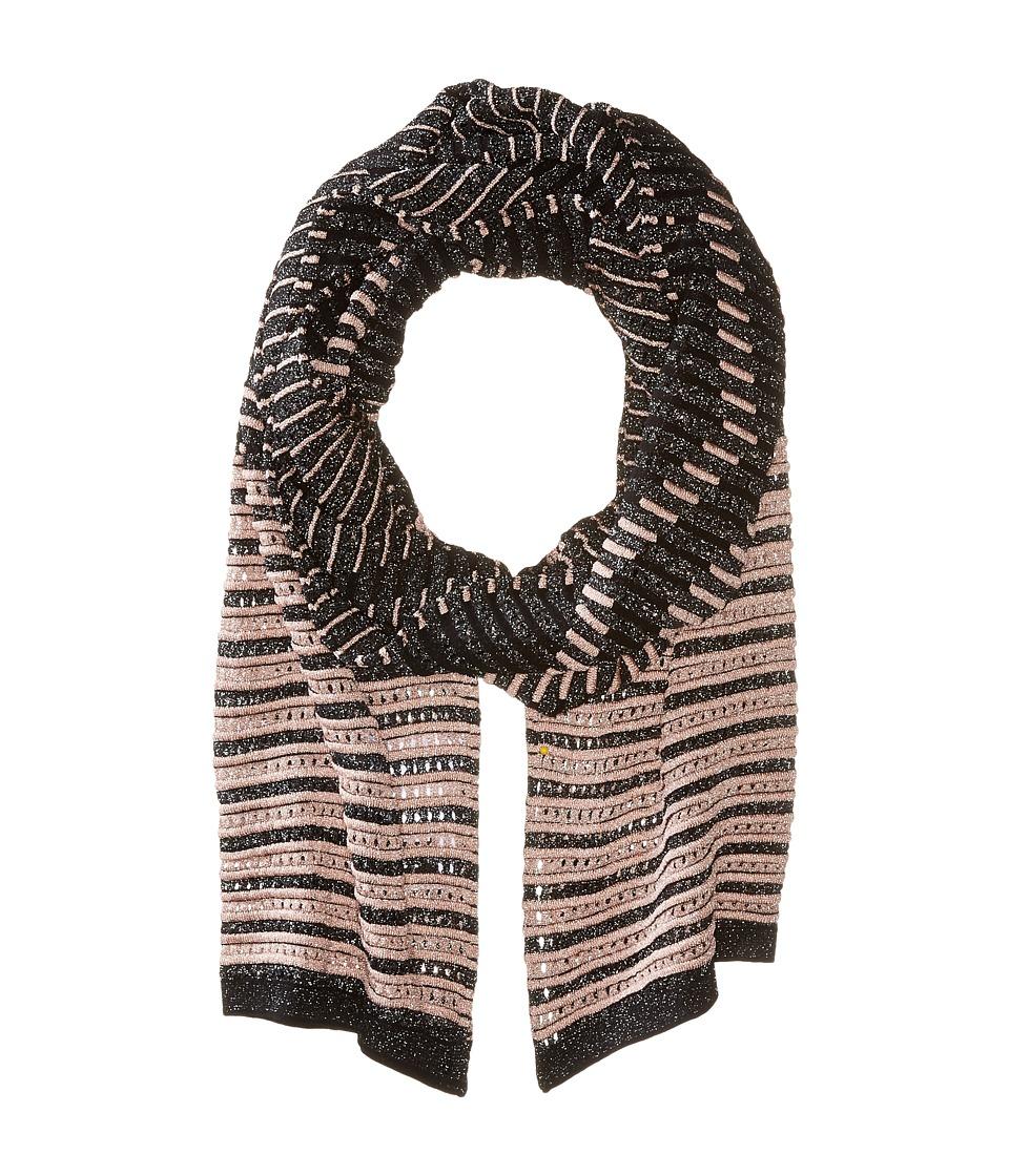 M Missoni - Lurex Scarf (Pink/Black) Scarves