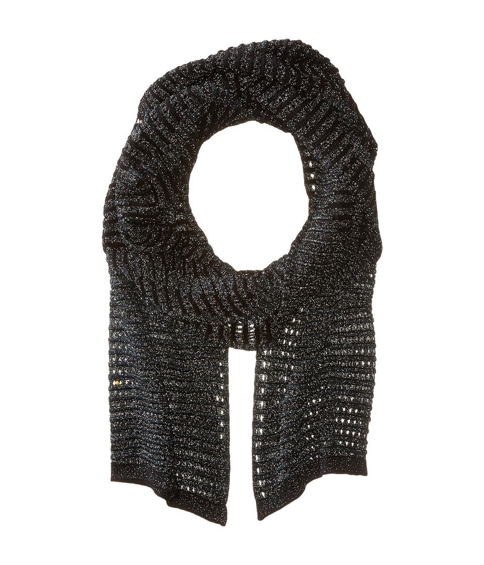 M Missoni - Lurex Scarf (Black) Scarves
