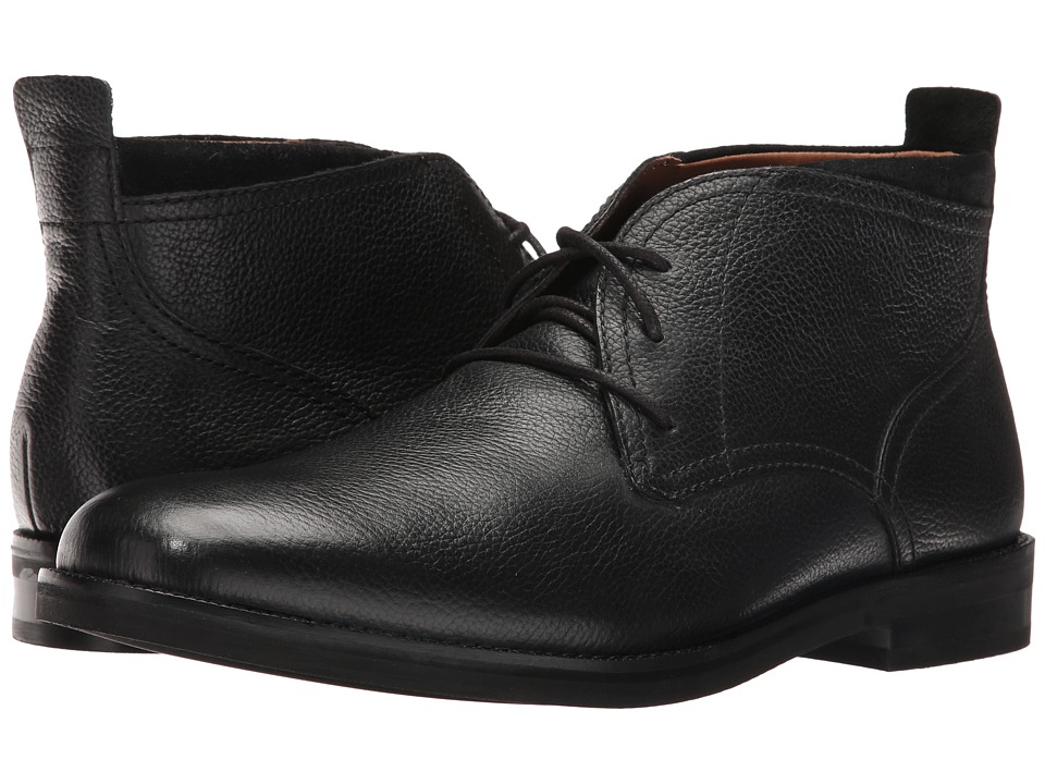 Cole Haan - Ogden Stitch Chukka II (Black Tumble) Men's Shoes