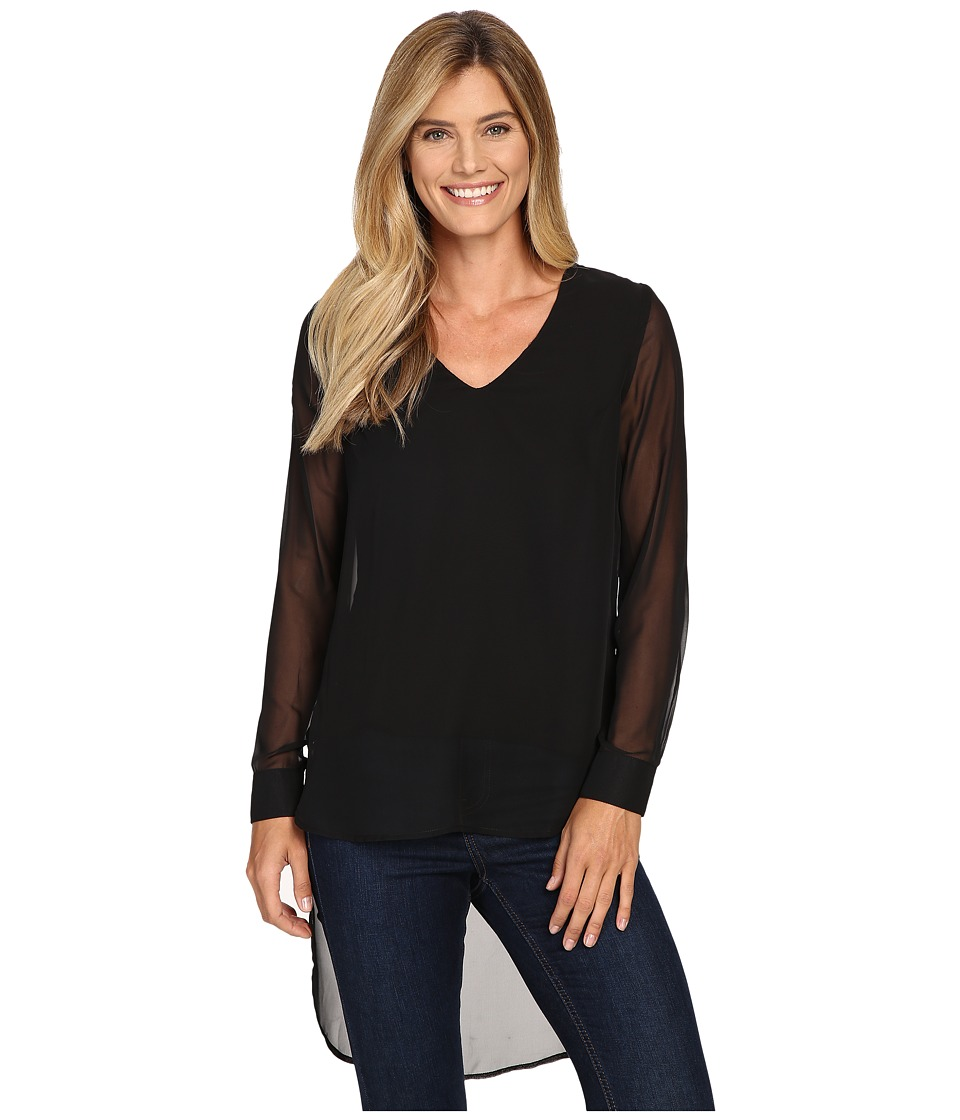 KUT from the Kloth - Makayla (Black) Women's Long Sleeve Pullover