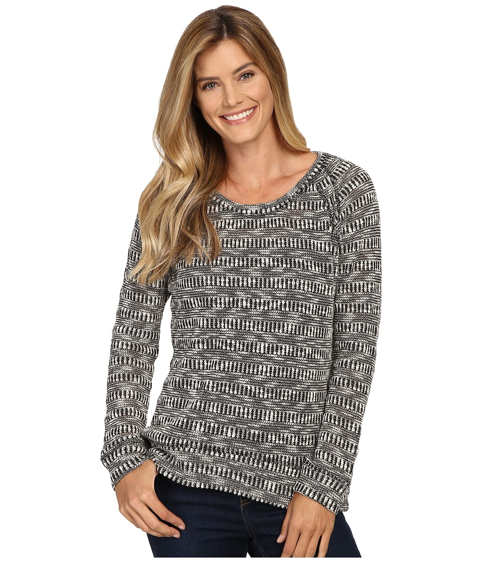 KUT from the Kloth - Mallory (Black) Women's Long Sleeve Pullover
