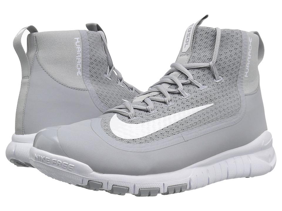 Nike - Huarache 2KFilth Elite Pregame (Wolf Grey/White) Men's Cleated Shoes