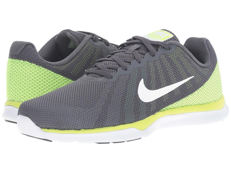 Nike - In-Season TR 6 (Dark Grey/White/Blue Cap/Green Glow) Women's Cross Training Shoes
