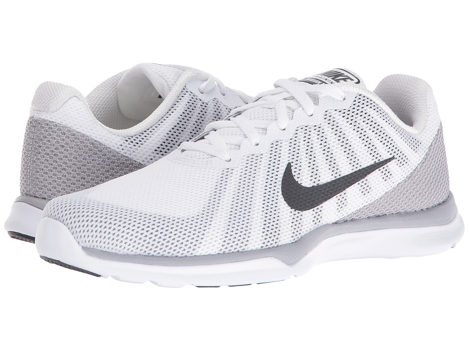 Nike - In-Season TR 6 (White/Anthracite/Wolf Grey/Stealth) Women's Cross Training Shoes