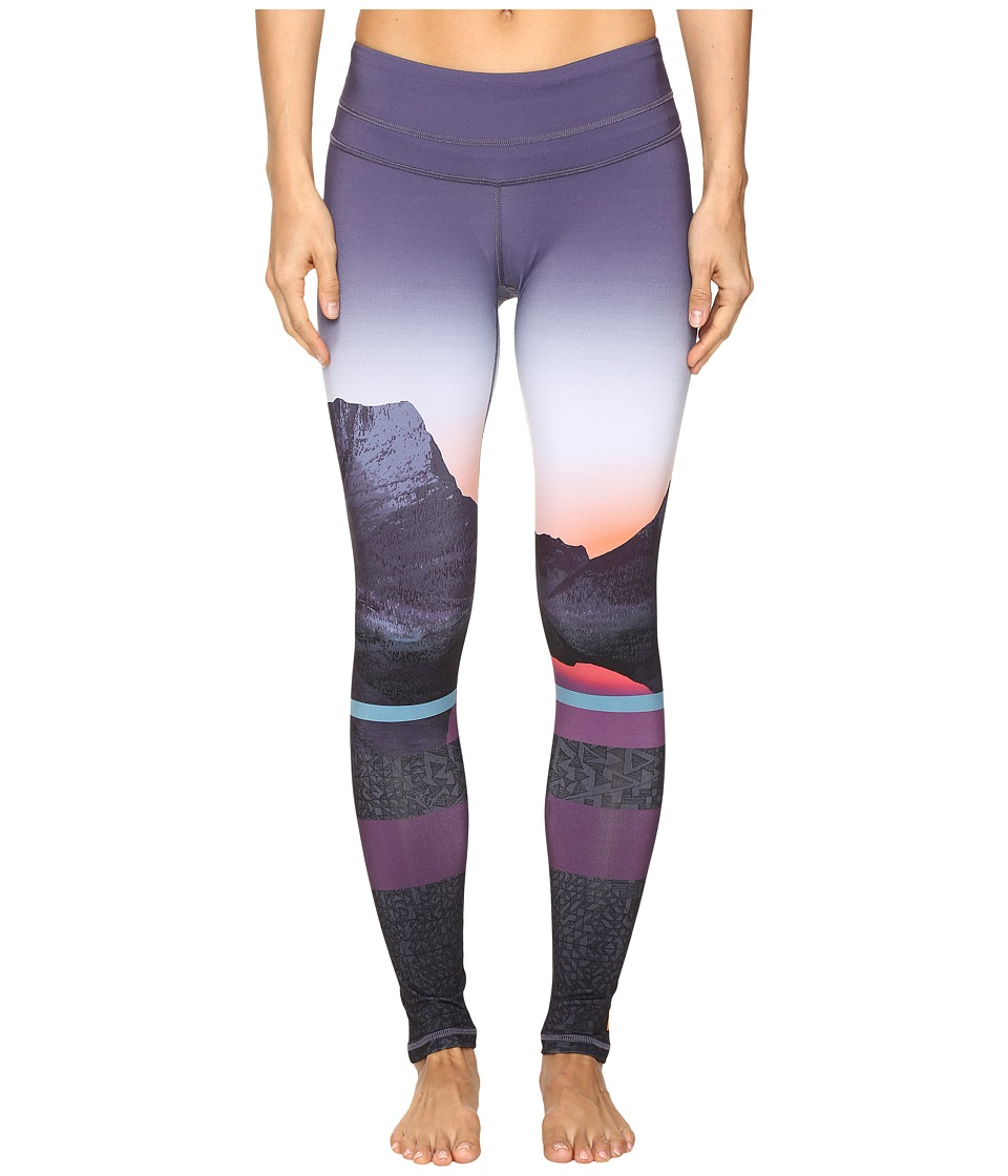 Lucy - Studio Hatha Legging (Horizon Multi Print 2) Women's Workout