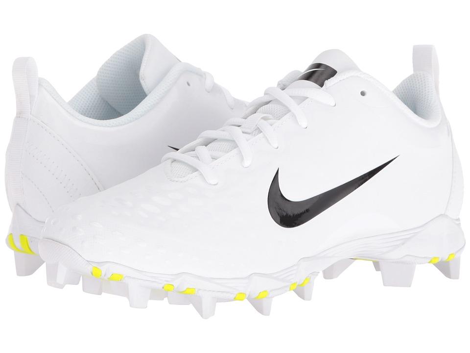 Nike - Hyperdiamond 2 Keystone (Black/White/Black) Women's Cleated Shoes
