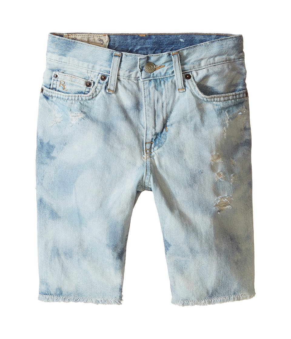 Polo Ralph Lauren Kids - Cut Off Shorts (Big Kids) (Sol Wash) Boy's Shorts