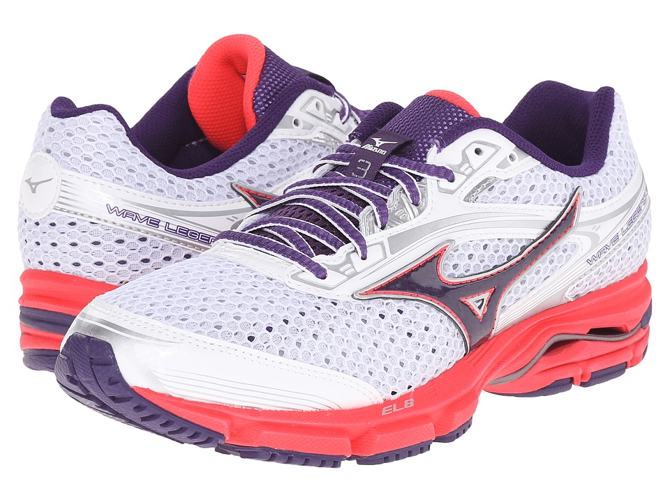 Mizuno - Wave Legend 3 (White/Purple) Women's Shoes